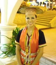 I'm in Bidayuh attire