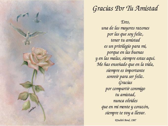 poemas de amistad y amor. del amor y la amistad