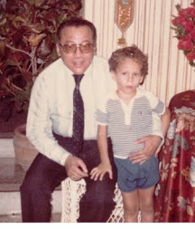My Dad and I many years ago