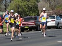 Racing on a sunny day in Wagga Wagga