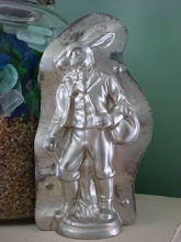 Classic Bavarian Dressed Bunny Antique Chocolate Mold