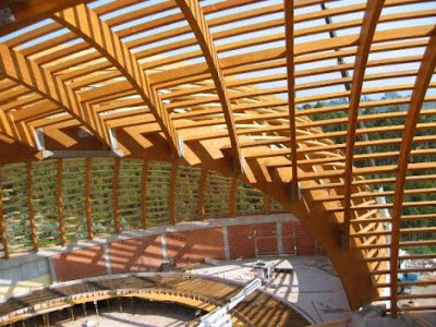 Estructuras ii estructura techumbre en madera - Estructura madera laminada ...