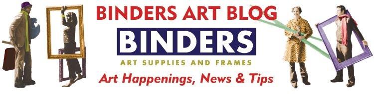 BINDERS ART BLOG