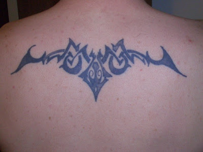Simple Tribal Tattoo - Back Tattoo