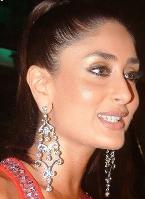 Kareena Kapoor in beautiful Diamond Earrings