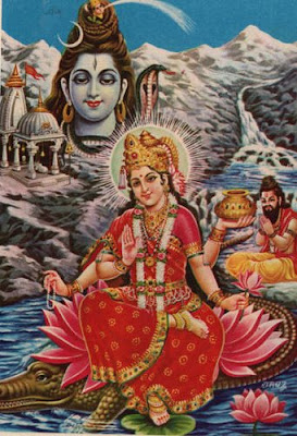 Goddess Ganga and Lord Shiva - Ganesh Chaturthi - Zimbio