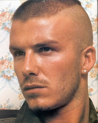 Short Haircuts for Men david beckham