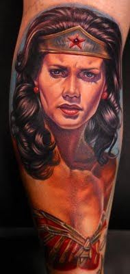 Wonder Women Tattoo