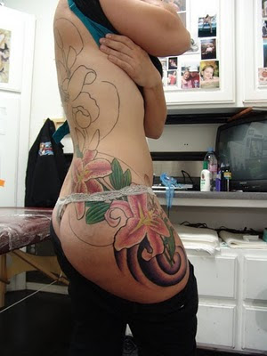 Pictures of Butt Tattoos - Unique Funny Sexy Buttocks Tattoo Design