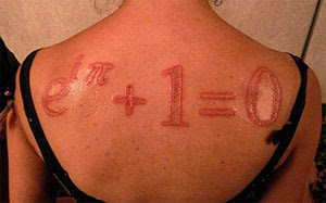 Maths Formula Tattoo Design