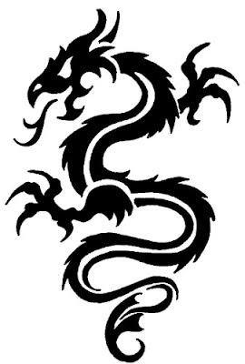 Popular Tribal Dragon Tattoo Design Pictures Collection