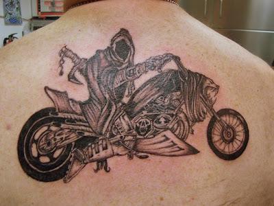 Ghost Rider Tattoo Design - Cool Tattoos