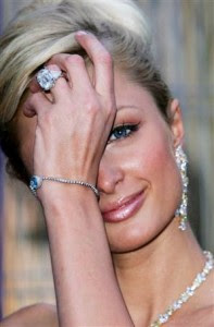 Paris Hilton Diamond Rings