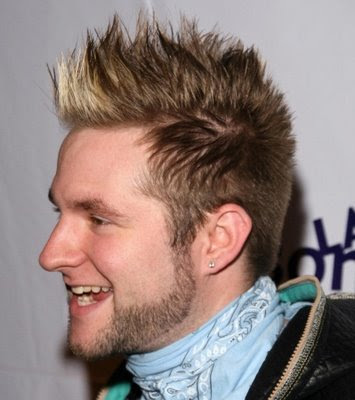 The mohawk hairstyle