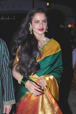 Rekha in Antique Necklace Set