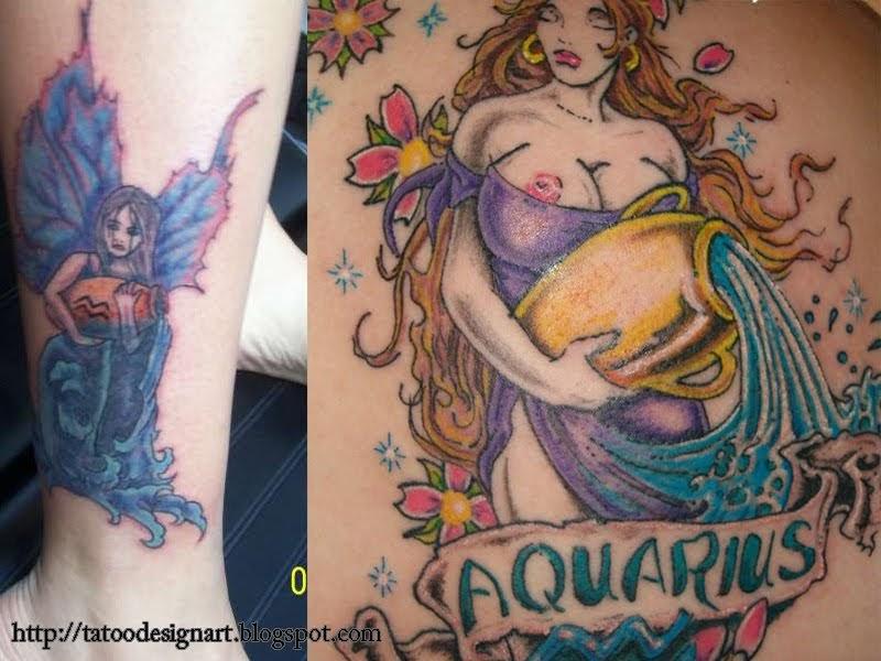aquarius tattoo designs tattoos for men. Black Bedroom Furniture Sets. Home Design Ideas