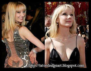 Anne Heche Tattoos - Celebrity Tattoo Images