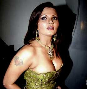 bollywood actress Rakhi Sawant Tattoo - Bollywood Tattoo