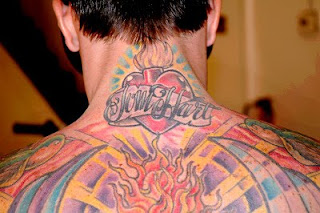 Carey Hart Tattoos - Celebrity Tattoo Designs