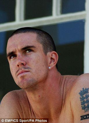 England Batsman Kevin Pieterson Tattoos