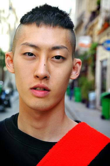 Stylish Korean Mohawk Hairstyle for Men