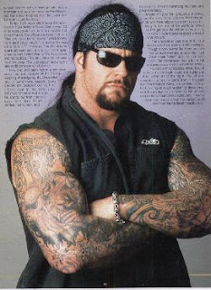 The Undertaker Tattoos - WWE Superstar Tattoo Design