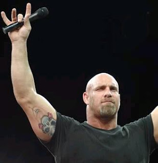 Bill Goldberg Tattoos - WWE Superstar Tattoo Design