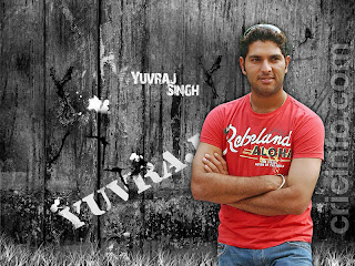 Indian Cricketer Yuvraj Singh Short Curly Hairstyle
