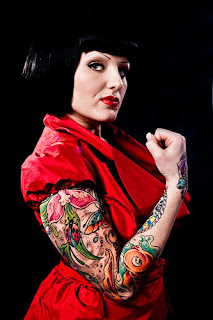 Tattooed Women - Arm sleeves Tattoo