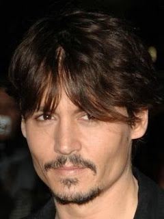 Johnny Depp Short Hairstyle