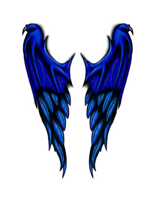 raven tattoo designs on ... Tattoo Concept: New Wings Design for tattoo - Wings Tattoo Design