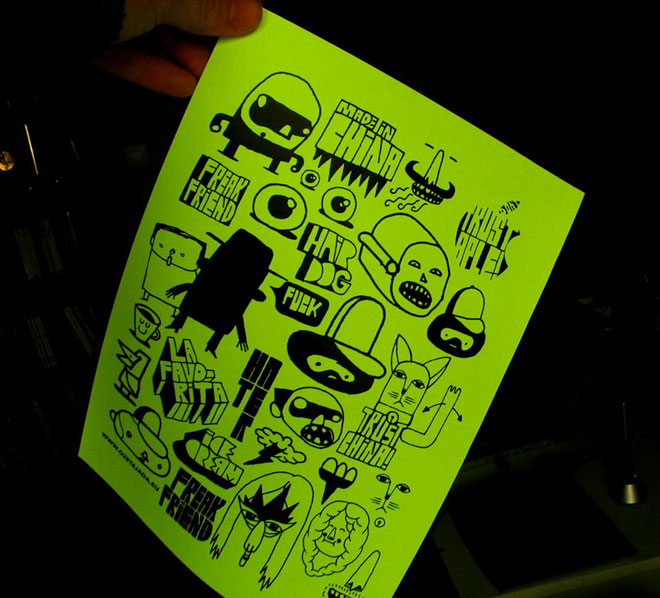 stickers 2009