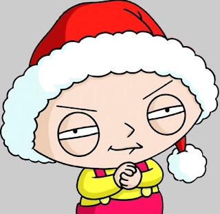 Stewie en Navidad