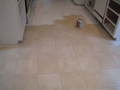 Beautiful nest painted vinyl floor for Paint for linoleum floors in bathroom