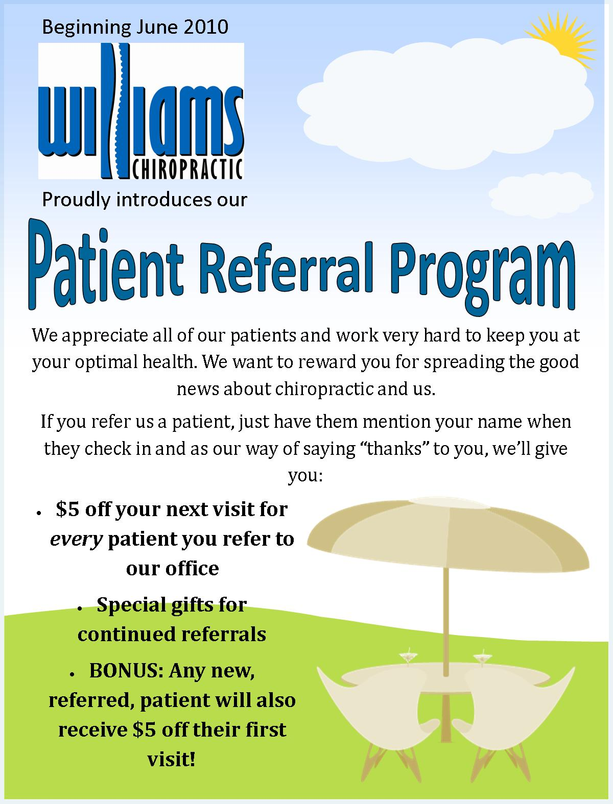 how to ask for referrals in an email
