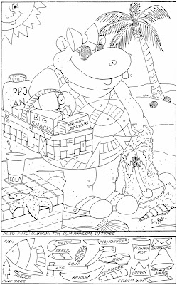Highlights Hidden Coloring Pages - Colorings.net