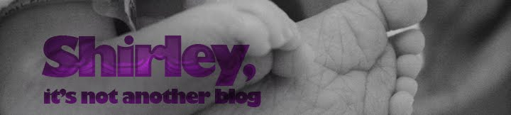 Shirley, it's not another blog