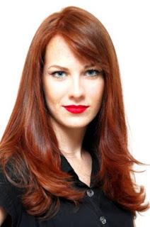 cabelo vermelho cobre