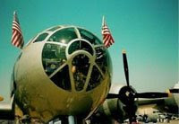 B-29 Nose Front View