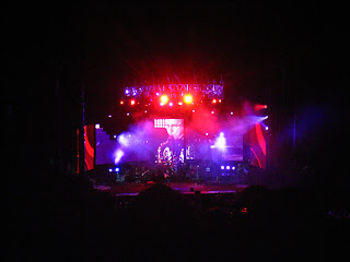 une photo prise lors du concert de dave matthews à the gorge