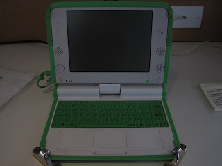 Un OLPC au Good Hotel de San Francisco
