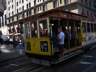 les fameux Cable Cars de San Francisco