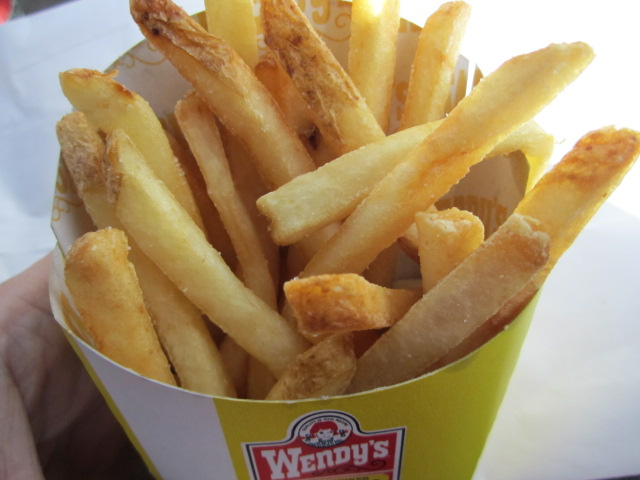 My Value Menu Sized Fries Smaller Than A Small Size
