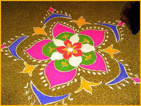 Tips And Tricks For Rangoli Drawing Destination Konkan
