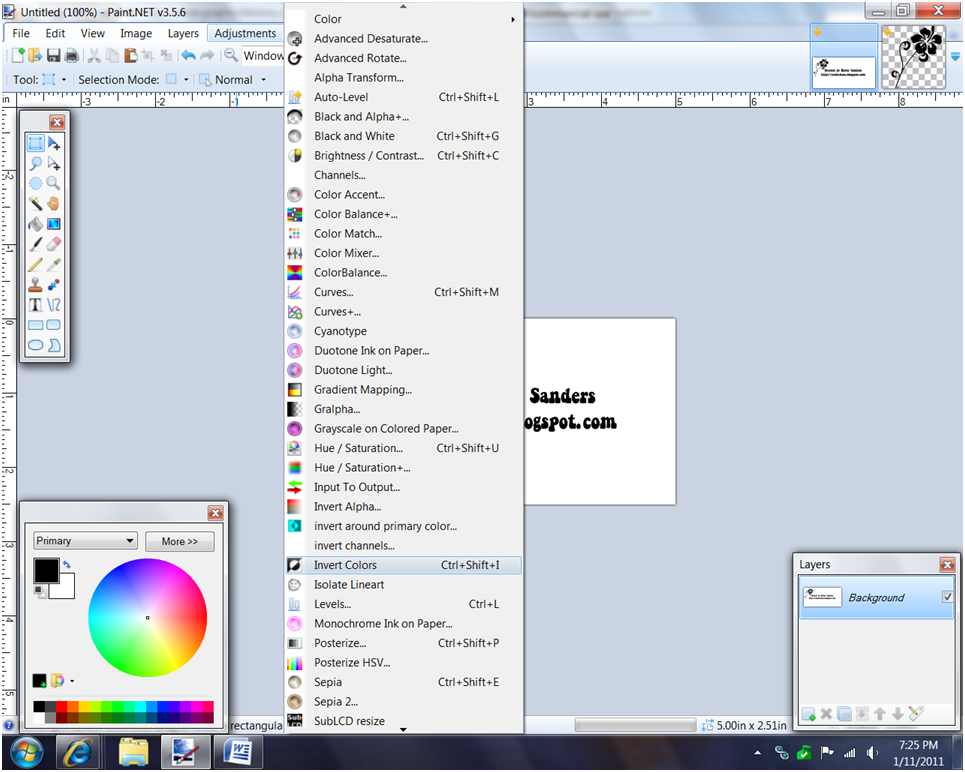 Paint Net How To Re Open Layer Menu