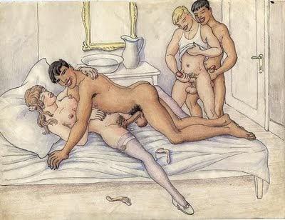 порно рисунки би секса