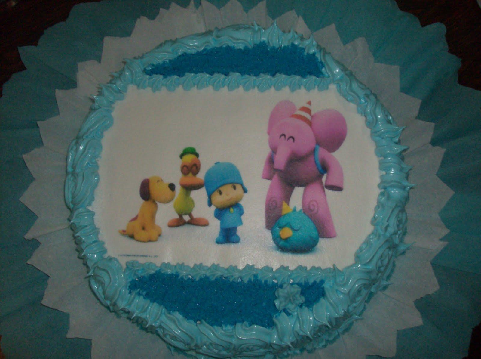 Tortas infantiles decoradas con merengue italiano - Imagui
