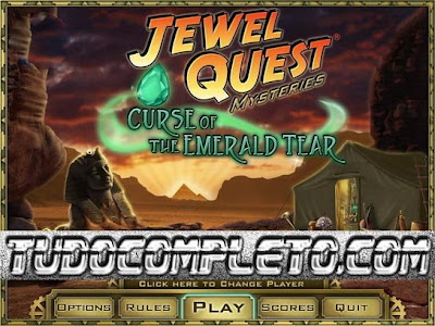 Jewel Quest Mysteries:  CURSE OF THE EMERALD TEAR (PC) Crack Download Completo