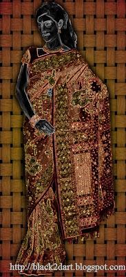 Aadarshini Embroidery Silk Saree