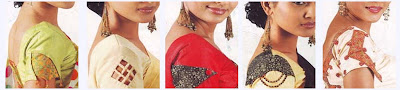 Latest Sleeves designs for Saree Blouse